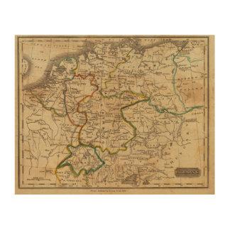 Germany 29 wood print