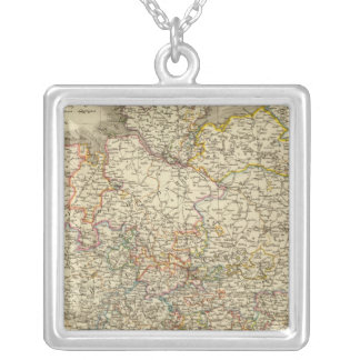 Germany 2 silver plated necklace