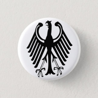 Germany 3 Cm Round Badge