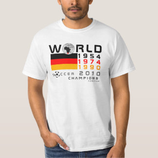 Germany 3 Times World Cup Champions T-Shirt 2