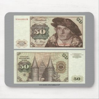 Germany 50 Mark Note Mouse Mat