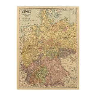 Germany 8 wood canvas