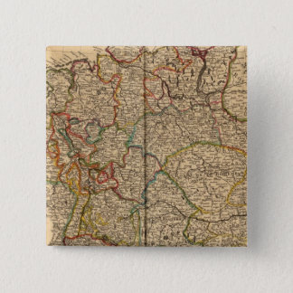 Germany and Austria 15 Cm Square Badge