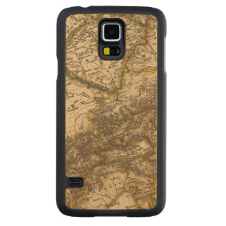 Germany and Austria 3 Carved Maple Galaxy S5 Case