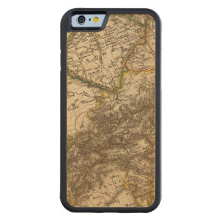 Germany and Austria 3 Carved Maple iPhone 6 Bumper Case