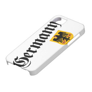 Germany and Crest iPhone 5 Covers