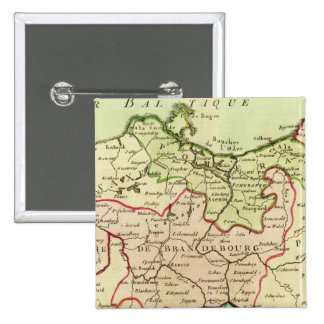 Germany and Poland 15 Cm Square Badge