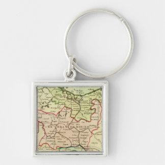 Germany and Poland Key Ring