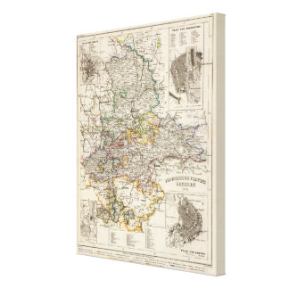 Germany and Prussia Canvas Print