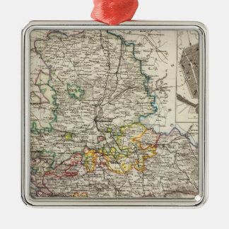 Germany and Prussia Silver-Colored Square Decoration