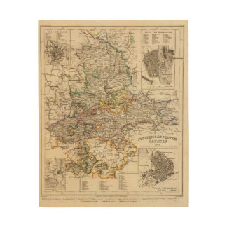 Germany and Prussia Wood Print