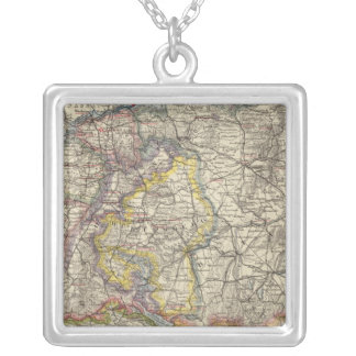 Germany and Switzerland Silver Plated Necklace