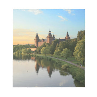 Germany, Aschaffenburg, Schloss (castle) Notepad