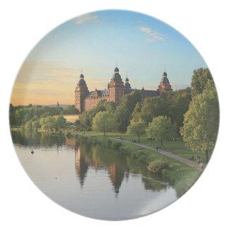 Germany, Aschaffenburg, Schloss (castle) Plate