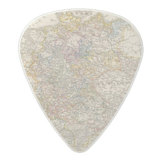 Germany at the time the 30 year old war acetal guitar pick