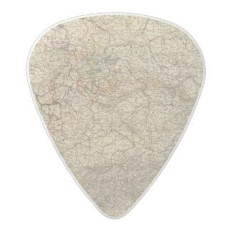 Germany Atlas Map Acetal Guitar Pick