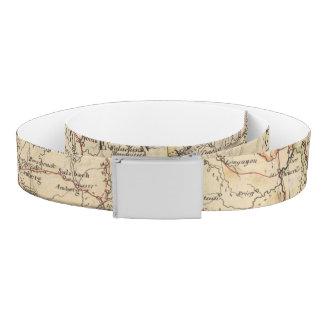 Germany Atlas Map Belt
