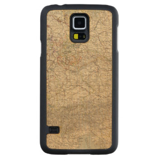 Germany Atlas Map Carved Maple Galaxy S5 Case