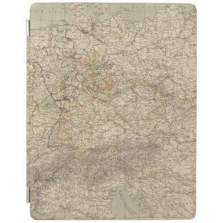 Germany Atlas Map iPad Cover