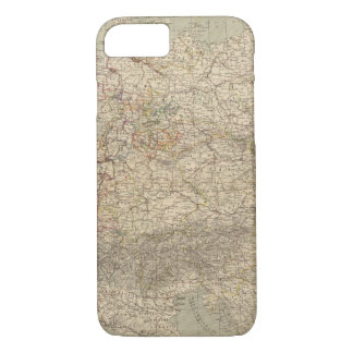 Germany Atlas Map iPhone 8/7 Case