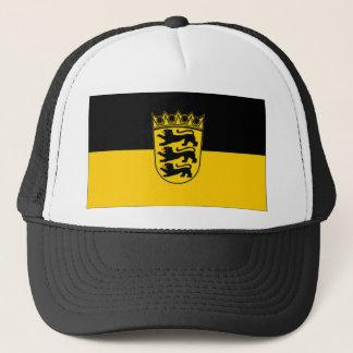 Germany Baden Wurttemberg Flag Trucker Hat