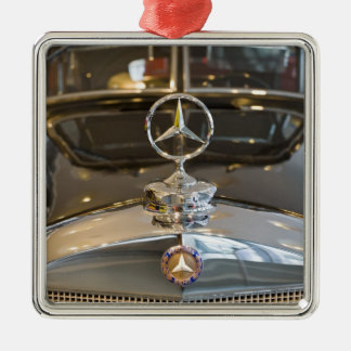 Germany, Baden-Wurttemberg, Stuttgart. Mercedes Christmas Ornament