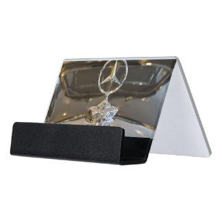 Germany, Baden-Wurttemberg, Stuttgart. Mercedes Desk Business Card Holder