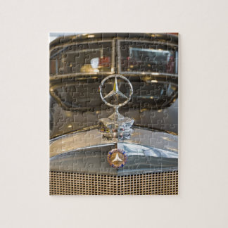 Germany, Baden-Wurttemberg, Stuttgart. Mercedes Jigsaw Puzzle