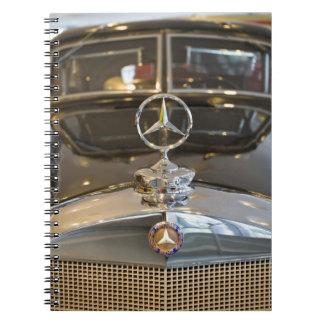 Germany, Baden-Wurttemberg, Stuttgart. Mercedes Spiral Notebook
