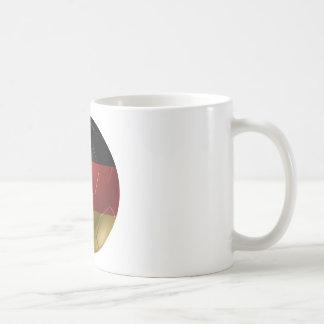Germany ball basic white mug