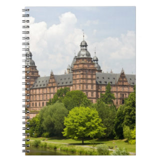 Germany, Bavaria, Bayern, Aschaffenburg. Schloss Spiral Notebook