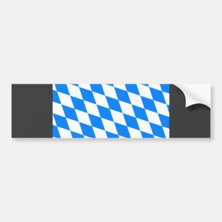 Germany Bavaria Flag Bumper Sticker