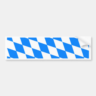 Germany Bavaria Flag Bumper Sticker