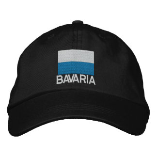 Germany Bavaria Flag Embroidered Cap