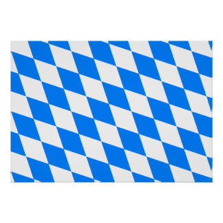 Germany Bavaria Flag Posters
