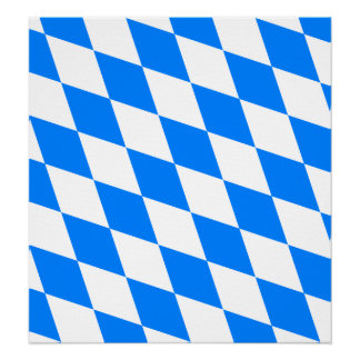 Germany Bavaria High quality Flag Posters