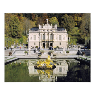 Germany, Bavaria, Linderhof Castle. Linderhof Art Photo