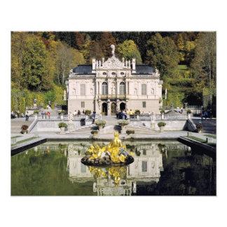 Germany, Bavaria, Linderhof Castle. Linderhof Art Photo