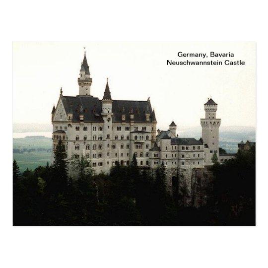 Germany, Bavaria Neuschwannstein Castle Postcard