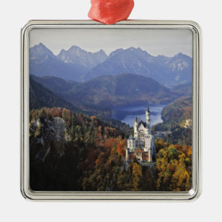 Germany, Bavaria, Neuschwanstein Castle. King Christmas Ornament