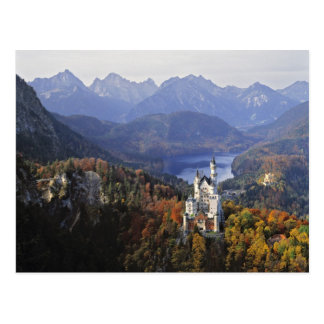 Germany, Bavaria, Neuschwanstein Castle. King Postcard