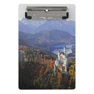 Germany, Bavaria, Neuschwanstein Castle. Mini Clipboard