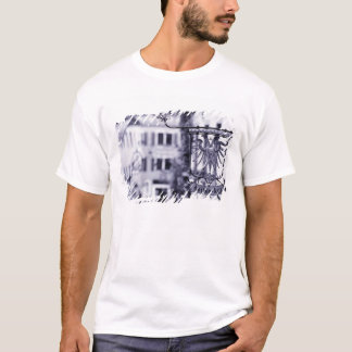 Germany, Bavaria, Rottenburg. Hotel sign T-Shirt