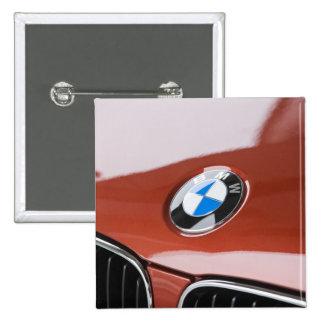Germany, Bayern-Bavaria, Munich. BMW Welt Car 2 15 Cm Square Badge