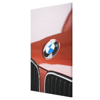 Germany, Bayern-Bavaria, Munich. BMW Welt Car 2 Canvas Print