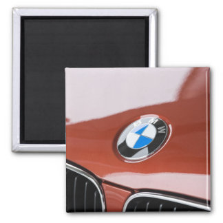 Germany, Bayern-Bavaria, Munich. BMW Welt Car 2 Magnet