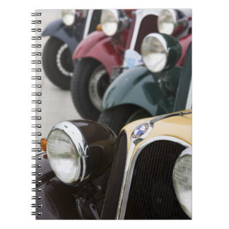 Germany, Bayern-Bavaria, Munich. BMW Welt Car 5 Spiral Note Book