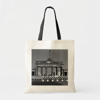 Germany Berlin Brandenburg Gate 1970 Budget Tote Bag