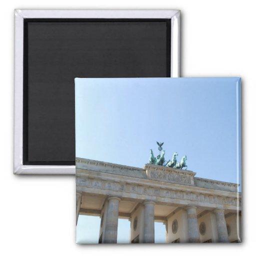 Germany, Berlin. Brandenburg Gate Magnet