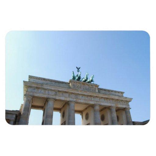 Germany, Berlin. Brandenburg Gate Rectangular Magnets